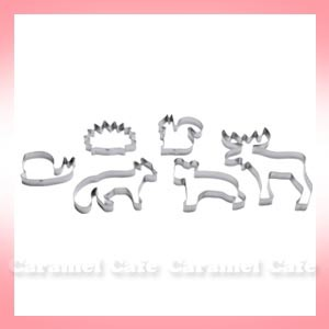 【IKEAイケア】DRÖMMAR 動物型のクッキー型 6個セット【お中元・ギフト】