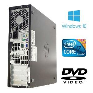 デスクトップパソコン 中古 HP Compaq 8200Elite Core i7 4GBメモリ Windows10  MicrosoftOffice2010