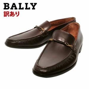 【訳あり(ソールに剥がれ、割れあり)】BALLY バリー 革靴 BASICO/02 ローファー ブランド ファッション 人気 オシャレ