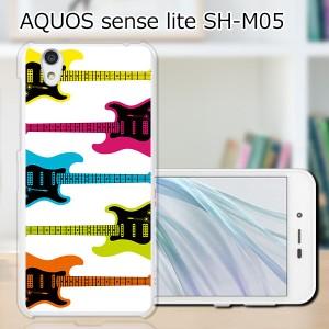 AQUOS sense lite SH-M05 ハードケース/カバー 【ストラトボーダー PCクリアハードカバー】 スマートフォンカバー・ジャケット
