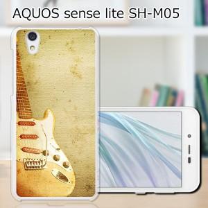 AQUOS sense lite SH-M05 ハードケース/カバー 【ストラトキャスター PCクリアハードカバー】 スマートフォンカバー・ジャケット