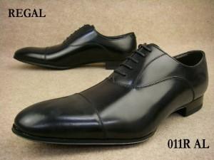■送料無料■ REGAL 011R AL B / リーガル ブラック メンズ フォーマル ストレートチップ ビジネスシューズ // 【YDKG-m】
