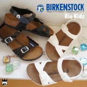 a777325f832b5 ビルケンシュトック BIRKENSTOCK 送料無料 女の子 子供靴 キッズ ジュニア サンダル リオ キッズ Rio Kids カジュアル
