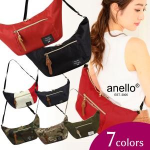 【送料無料】アネロ anello 正規品 ショルダーバッグ  サコッシュバッグ マザーズバッグ レディース メンズ ボディバッグ ウエストポーチ
