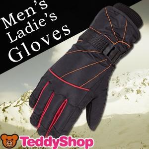 手袋 メンズ 手袋レディース グローブ 防寒 手袋 撥水 防風 暖かい スノーボード スキー スケート バイク 自転車 男性用 女性用