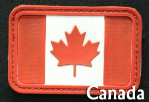 ミリタリーワッペン カナダ国旗