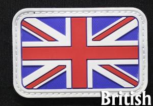 ミリタリーワッペン イギリス国旗