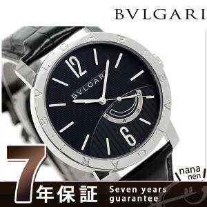 """""""ブルガリ BVLGARI ブルガリブルガリ 41mm 自動巻き メンズ BB41BSL 腕時計 ブラック"""""""