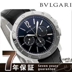 """""""ブルガリ BVLGARI ブルガリブルガリ 41mm 自動巻き メンズ BB41BSLDCH 腕時計 ブラック"""""""