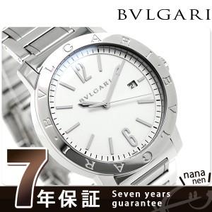 """""""ブルガリ BVLGARI ブルガリブルガリ 41mm 自動巻き メンズ BB41WSSD 腕時計 ホワイト"""""""