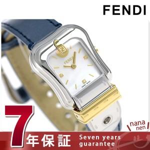 """""""フェンディ Bフェンディ クオーツ レディース 腕時計 F380124531D1 FENDI ホワイトシェル"""""""