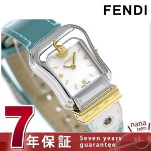 """""""フェンディ Bフェンディ クオーツ レディース 腕時計 F380124581D1 FENDI ホワイトシェル"""""""