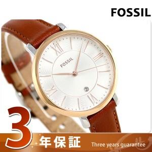 4caf0ccec0b9 【あす着】フォッシル ジャクリーン 36mm レディース 腕時計 ES3842 FOSSIL 革ベルト