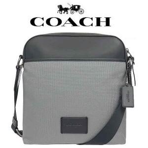 fce97581aa18 【送料無料】F37609 QBHGR コーチ COACH ヘザーグレー ナイロン バッグ ショルダーバッグ キャンバス レディース