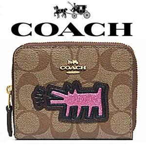 f6260dd3091c 【送料無料】F39996 IME7V コーチ COACH 財布 二つ折り財布 コーチ×キース ヘリング