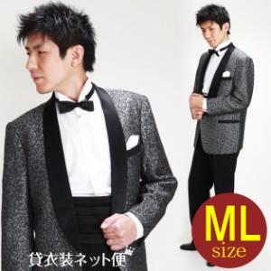7ee17e38426c8  タキシード レンタル M・Lサイズ 168175cm グレー NT-UP-