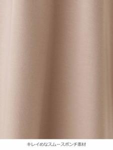 【マタニティ ワンピース】【授乳口付】ポンチVネック六分袖ワンピース【産前 産後 授乳服 妊婦服】