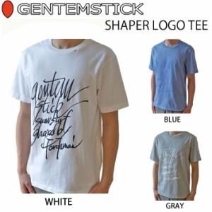 Se.×GENTEM STICK ゲンテンスティック 半袖 Tシャツ メンズ SHAPER LOGO TEE