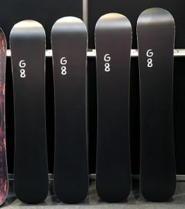 18-19 SCOOTER SNOWBOARD G8 G-8 スクーター スノーボード ジーエイト メンズ サイズ 板