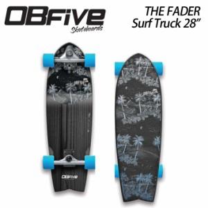 OB five オービー ファイブ Fader Surf Truck 28 フェーダー コンプリート サーフスケート [1] オブ ファイブ
