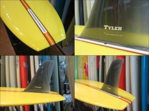 TYLER SURFBOARDS タイラー サーフボード 777 9'4 TRIPLE SEVEN トリプルセブン ロングボード LONG BOARD [条件付き送料無料]