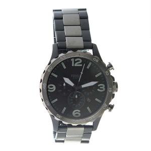 腕時計 メンズ フォッシル FOSSIL クロノ クオーツ JR1527 ブラック
