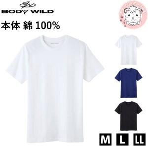 グンゼ ボディワイルド 半袖 クルーネックTシャツ M L LL