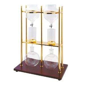 水出しコーヒーメーカー ウォータードリッパー 10人用 ゴールドW