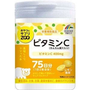 """""""おやつにサプリZOO ビタミンC 150粒"""""""