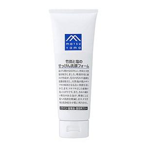 """M-mark 竹炭と塩のせっけん洗顔フォーム 120g"""