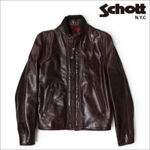 ショット ライダースジャケット Schott ジャケット レザージャケット LEATHER JACKET 588 ANT メンズ