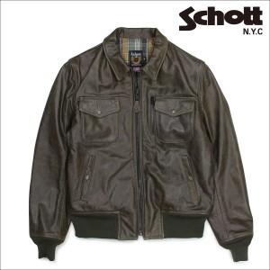 ショット Schott ライダースジャケット ジャケット レザージャケット メンズ PERFECTO LEATHER JACKET オリーブ 648