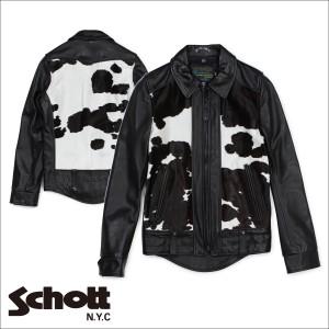 ショット Schott ライダースジャケット ジャケット レザージャケット メンズ ブラック P6422