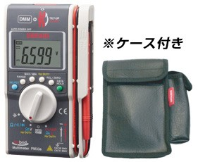 """sanwa(三和電気計器) [PM33a/C]ポケットに入るデジタルマルチメータ+クランプメータ多機能複合機(ケース付属)【送料無料】"""