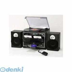 とうしょう [TCD-389W] ダブルカセット ダビングレコードプレーヤー【CD付き】 TCD389W