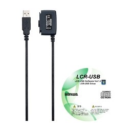 """sanwa(三和電気計器) [LCR-USB] LCR USB接続ユニット(取込みソフトウェア付属) LCRUSB"""