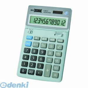 ADESSO(アデッソ) [D-9012] 12桁中型卓上電卓 D9012