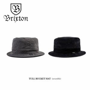 """""""ブリクストン BRIXTON タル バケットハット Tull Bucket Hat ブリムハット レディース メンズ リバーシブル BLACK/GREY ブラック/グレ.."""
