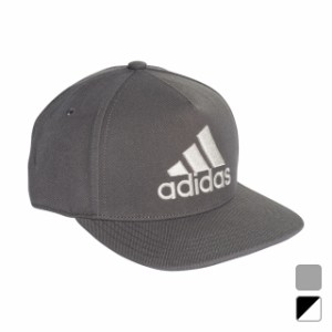 82086d4002b1b アディダス キャップ ロゴフラットキャップ (EBZ97) 帽子 adidas