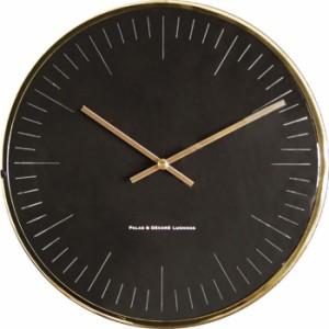 パラデック GROCIA メタルウォールクロック  GRA-225 ブラス 壁掛け時計 シンプル モダン おしゃれ かわいい 掛け時計 掛時計 ウォールク