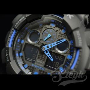 CASIO カシオ 腕時計 G-SHOCK Gショック アナデジ GA-100-1A2 メンズ