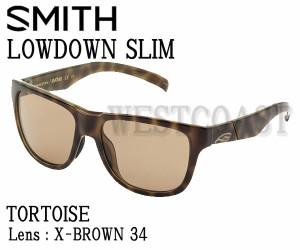 SMITH(スミス) LOWDOWN SILM TORTOISE【レンズ】X-BROWN34 203350804サングラス【送料無料(北海道・沖縄除く)】
