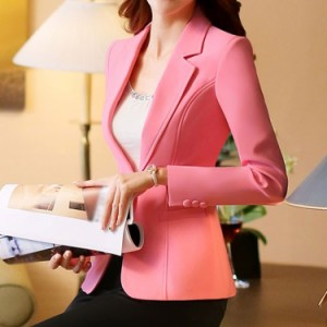 テーラードジャケット 1つボタンジャケット テラジャケ スーツ レディース ビジネス フォーマル スリム 細身 就活 オフィス