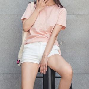 カジュアルtシャツ レディース ロングtシャツ 無地tシャツ サイドスリット 前後差違い 長袖tシャツ ベーシックtシャツ シン