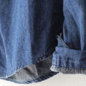 デニムシャツ レディース ウォッシュ加工シャツ ダンガリーシャツ 春コーデ 羽織 大人かわいい カジュアル 大きいサイズ 2017春