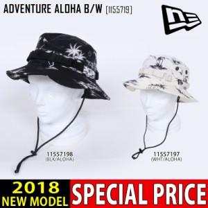 NEW ERA ニューエラ 帽子 ADVENTURE ALOHA B/W ハット 1551719 メンズ レディース