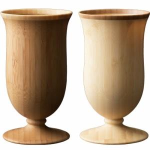 RIVERET カンパニュラ ペア グラス おしゃれ 結婚祝い 木 木製 日本製 ギフト コップ プレゼント お祝い セット
