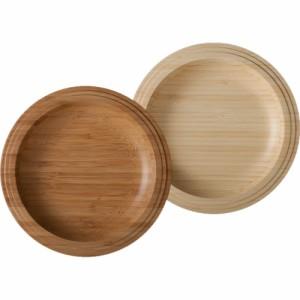 RIVERET プレート24cm ペア お皿 プレート おしゃれ 結婚祝い 木 木製 日本製 ギフト プレゼント お祝い セット