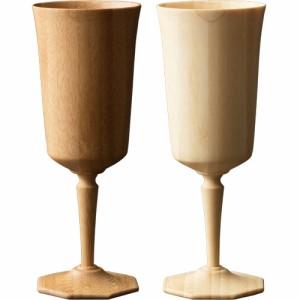 RIVERET オクタス ペア グラス おしゃれ 結婚祝い 木 木製 日本製 ギフト コップ プレゼント お祝い