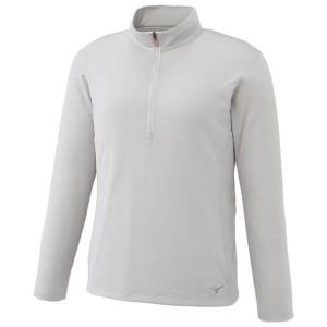 MIZUNO ミズノ ドライサイエンス/長袖ジップネックシャツ(レディース) A2JA735104